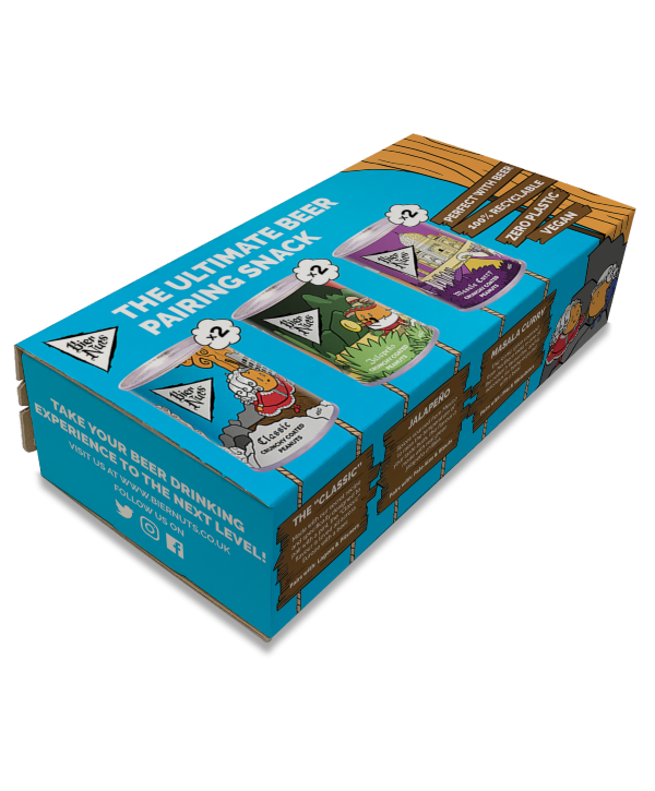 bier nuts 6 pack mixed case