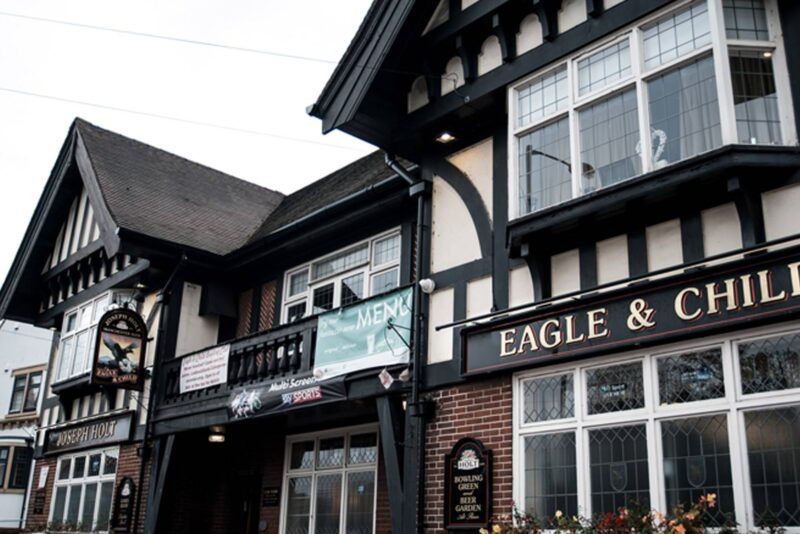 Eagle & child joseph holt pub