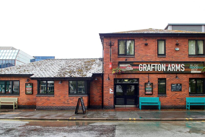 Grafton Arms pub in manchester