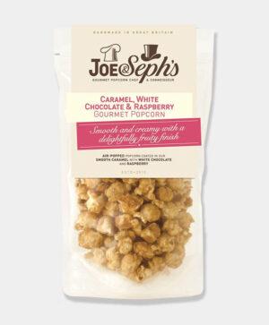 joe and sephs raspberry white chocolate pop corn