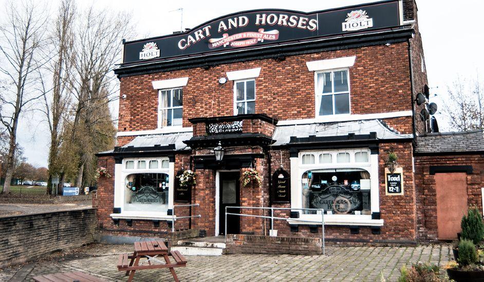 cart and horses pub astley joseph holt