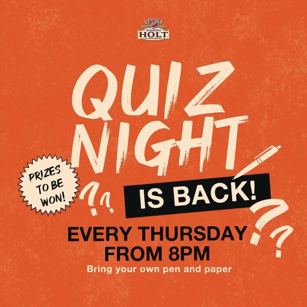 Pub Quiz Night Thursday frigate