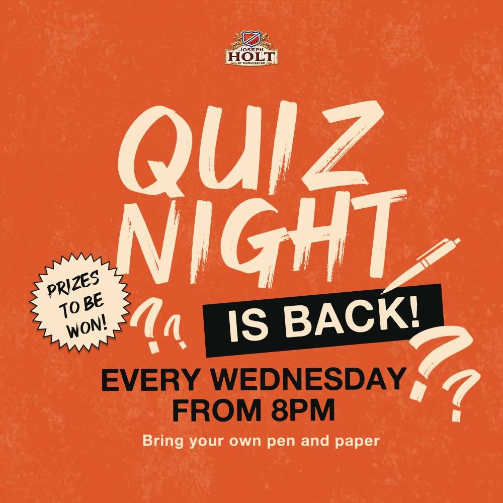 Pub Quiz Night Weds edington