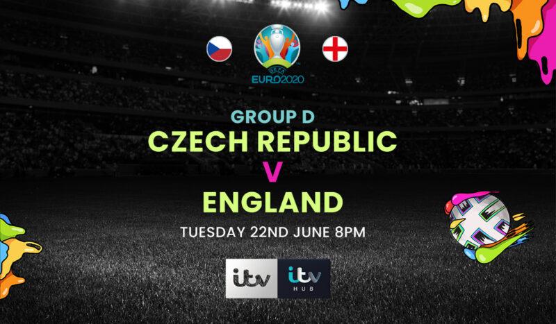22 june CZECH REPUBLIC vs ENGLAND