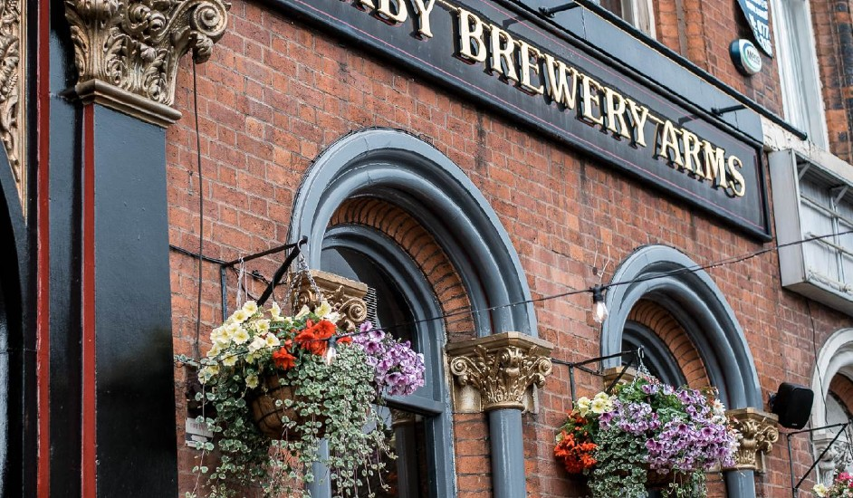 derby brewery arms featured pub