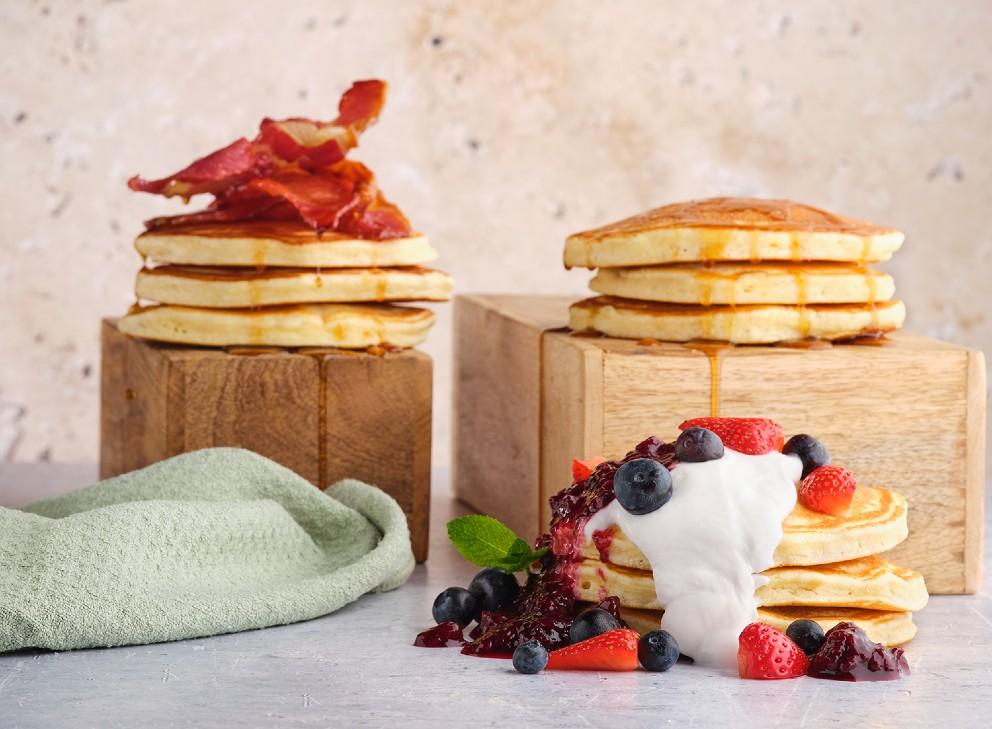 pancakes stack bridgewater exchange airport pub