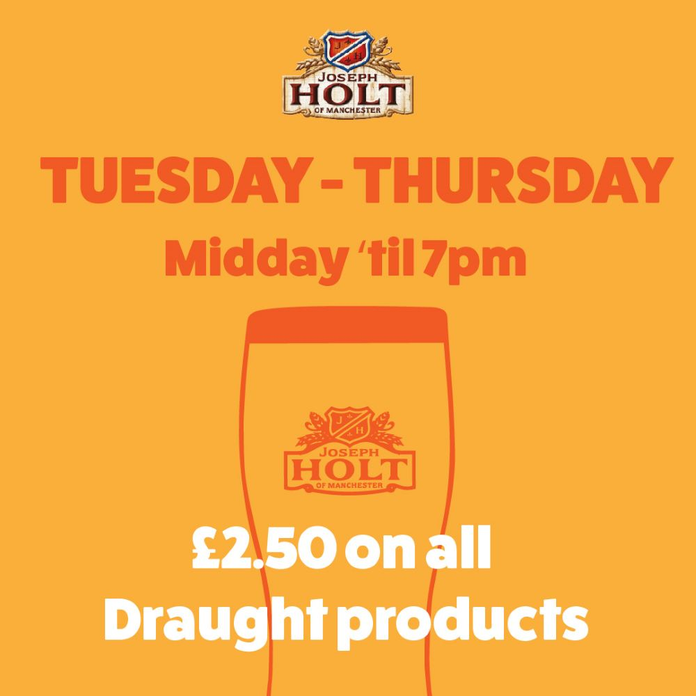 Starkey Arms tues thurs offer