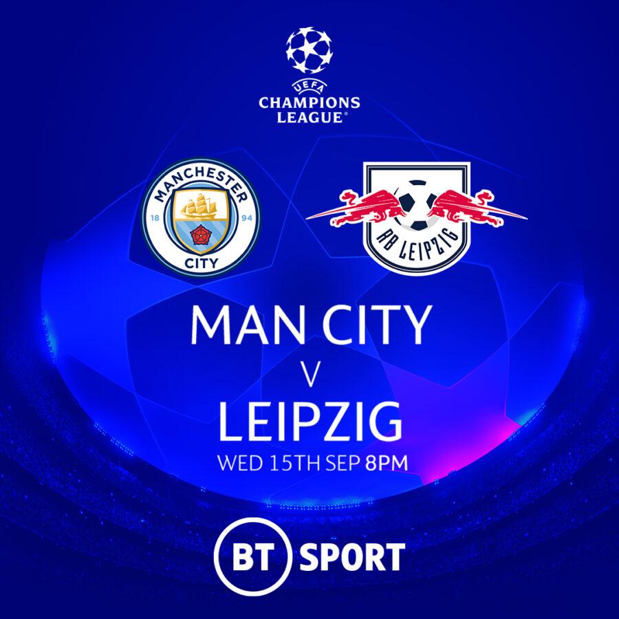 Champs League man city leipzig