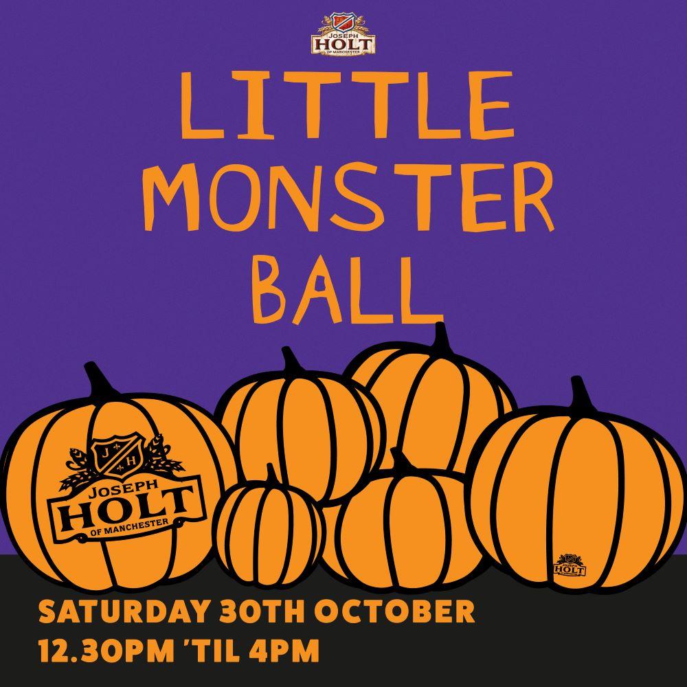 Fairway Inn Halloween little monster ball