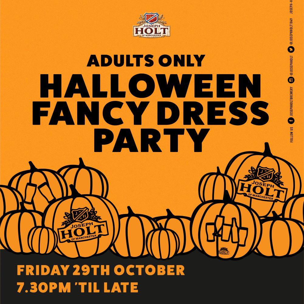 Fairway Inn Halloween fancy dress party